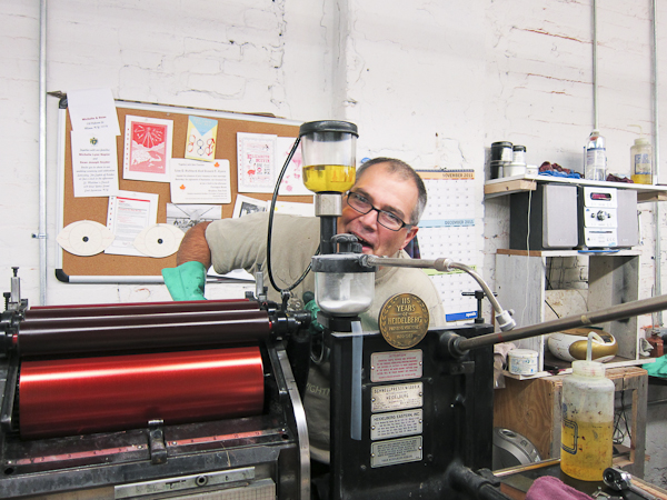 letterpress printers like to have fun