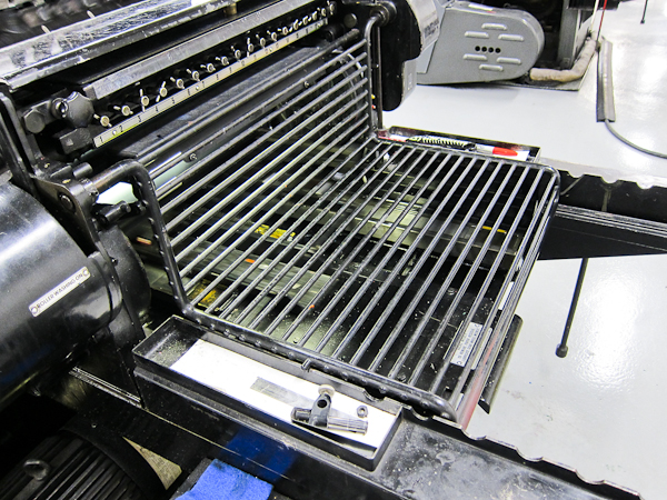 Heidelberg KSBS letterpress printer