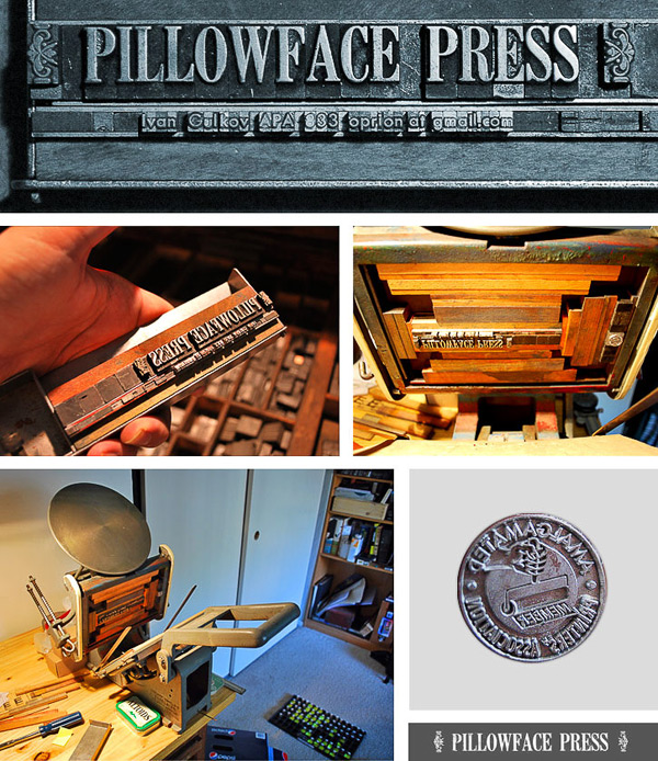 Ivan Gulkov of Pillowface Press shares the full scoop on his background and printshop