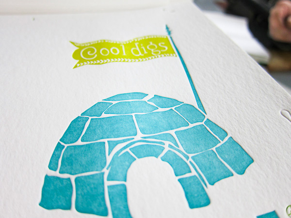 smock everyday letterpress igloo