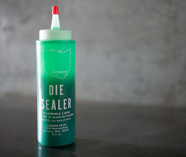 Green Die Sealer