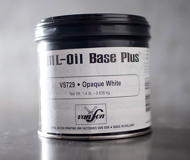 Opaque White - oil base