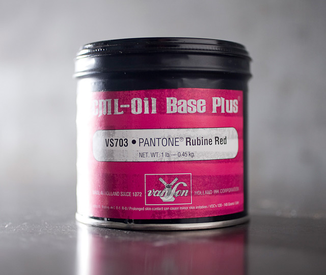 Rubine Red - oil base