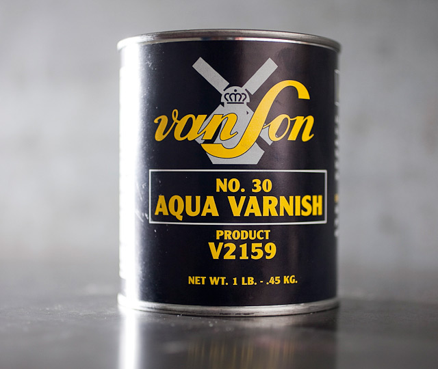Aqua Flow Varnish #30