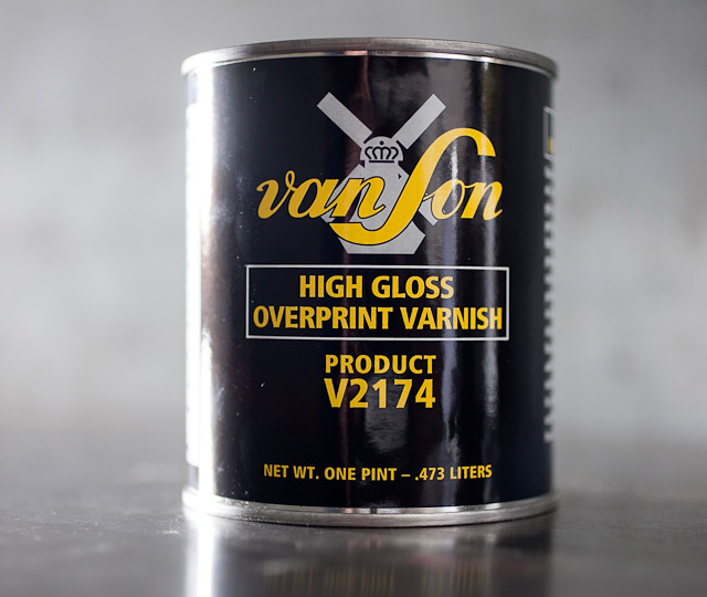 High Gloss Overprint Varnish