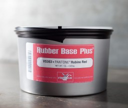 photo of Rubber Based Rubine Red wide