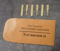 Letterpress Printing: Replacement tongues for Kort Gauge Pins