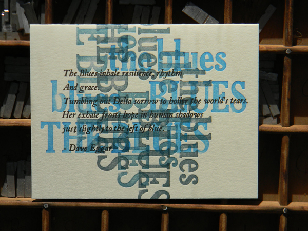Tia Blassingame Blues Print