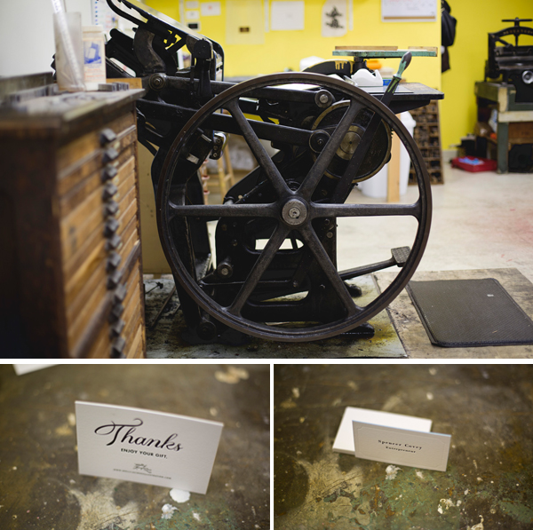 Freshly Squeezed is a letterpress print shop based in Grand Rapids, Michigan