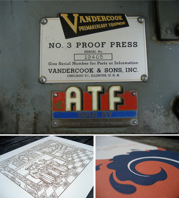 Volta Press is a letterpress print shop based in Oakland California