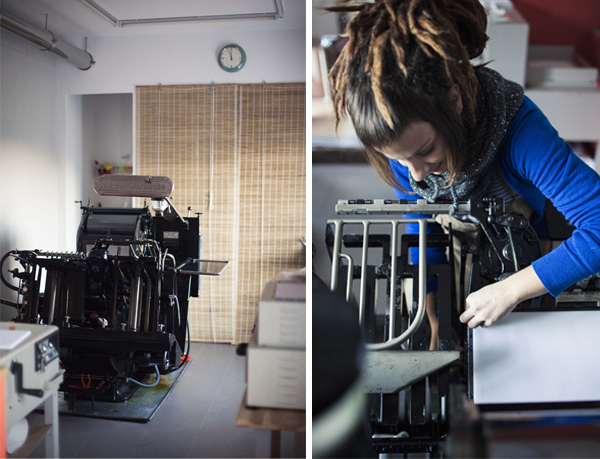 La Trasteria is a letterpress print shop based in Barcelona