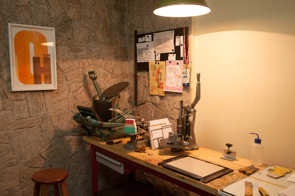 Carimbo Press shop is a letterpress print and design studio based in Brazil.