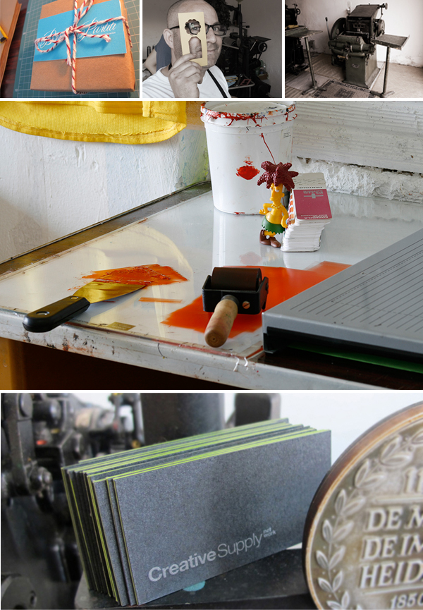 Fine invitations, heritage printing presses,and lucky charms: Courtesy of Pergam Press.