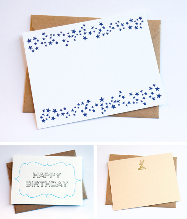 Luxurious letterpress printed pieces by Pheasant Letterpress.