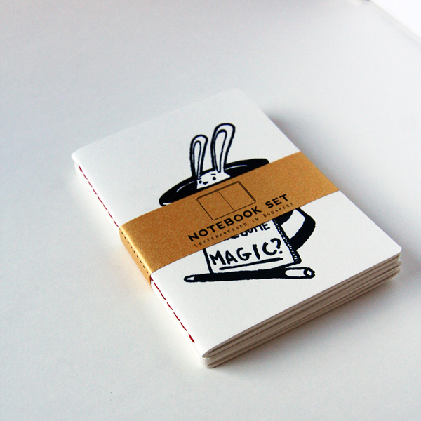 Clever notebook printed by Absoloot printshop.